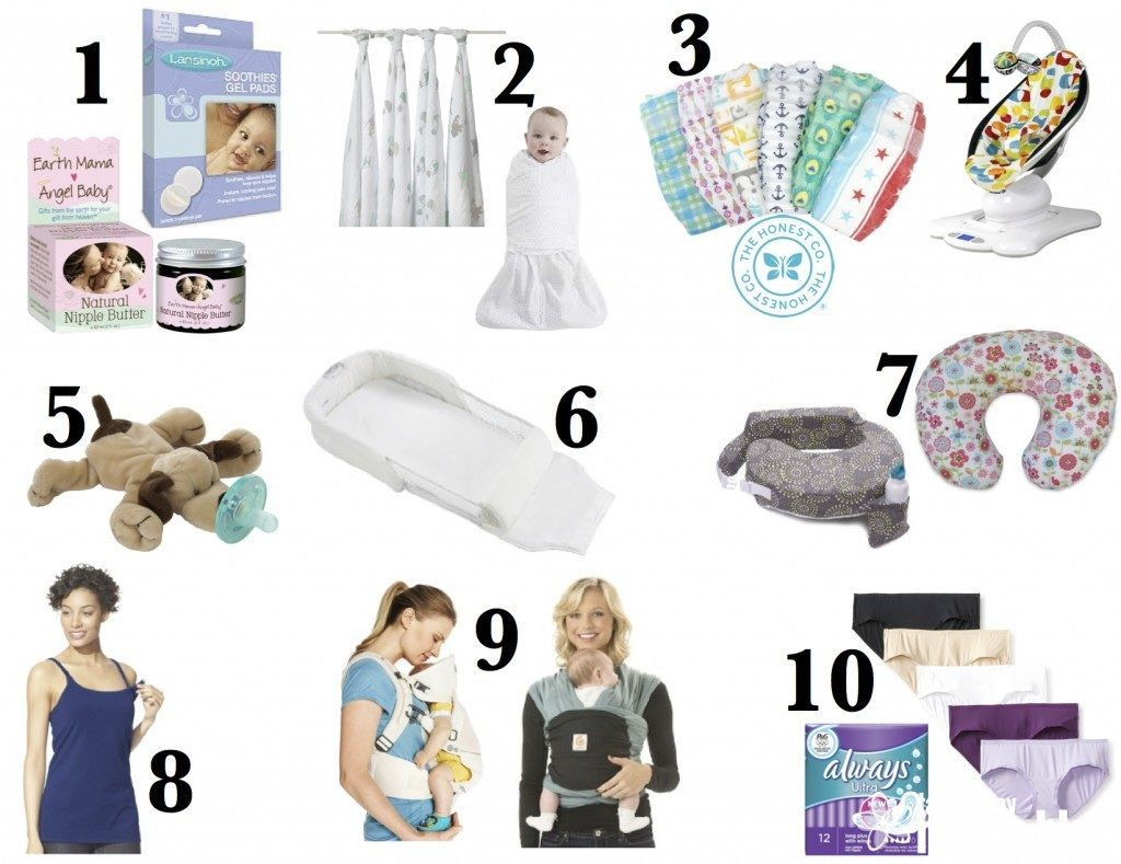 New Moms Must Haves