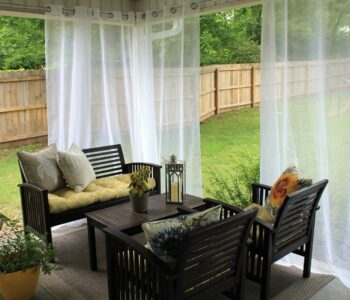 Adorn your property like never before with beautiful and durable patio curtains